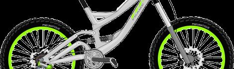 スポーツタイプの自転車